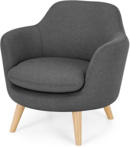 An Image of Nya Armchair, Summit Grey Weave