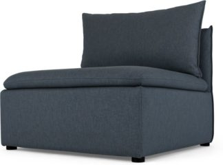 An Image of Victor Modular Sofa Single Seat, Lido Blue