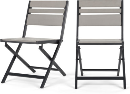 An Image of Set Of 2 Catania Bistro DInIng Chairs, Polywood