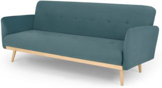 An Image of Stevie Click Clack Sofa Bed, Sherbet Blue