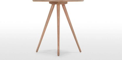 An Image of Kitson Round Dining Table, Natural Ash