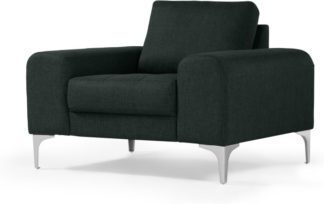An Image of Vittorio Armchair, Anthracite Grey