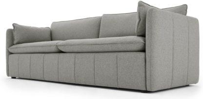 An Image of Tibor 3 Seater Sofa, Mountain Grey