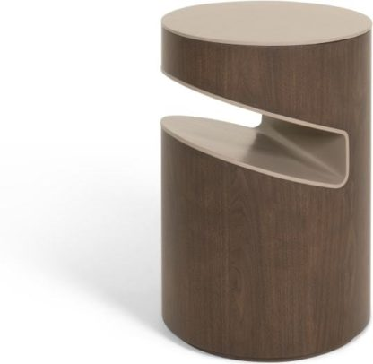 An Image of Zeke bedside table, walnut