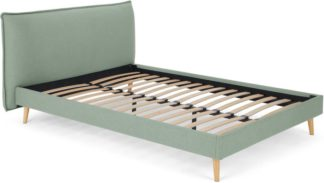 An Image of Piper King Size Bed, Tarragon Green