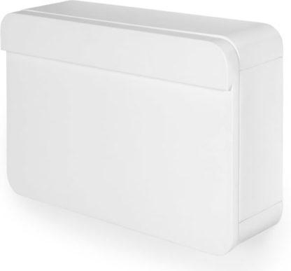 An Image of Esme Wall Desk, White
