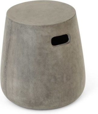 An Image of Edson Garden Stool, Cement