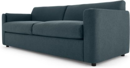 An Image of Baen 3 Seater Sofa, Aegean Blue