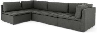 An Image of Mitchel Modular Corner Sofa, Marl Grey
