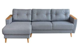 An Image of Expo Left hand Corner Sofa Retro Leaf