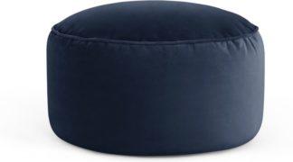 An Image of Lux Velvet floor cushion, Royal Blue Velvet