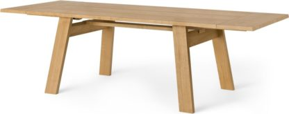 An Image of Cortez 6-10 Seat Extending Dining Table, Ash