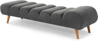 An Image of Caterpillar Day Bed, Marl Grey