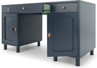 An Image of Quin Desk, Blue