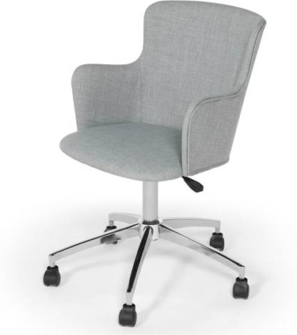 An Image of Winona Office Chair, Print Grey