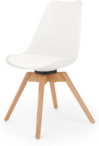 An Image of Thelma Office Chair, White