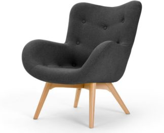 An Image of Doris Accent Armchair, Shetland Slate