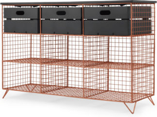 An Image of Amph Hallway storage console, Copper and Grey