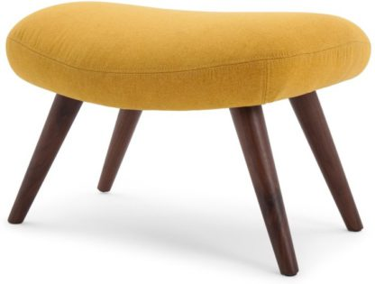 An Image of Moby Footstool, Yolk Yellow