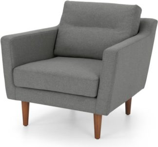 An Image of Walker Armchair, Mountain Grey