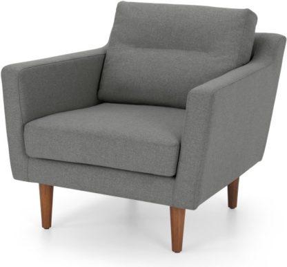 An Image of Walker Armchair, Mountain Grey