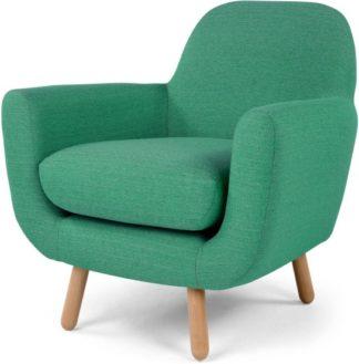 An Image of Jonah Armchair, Spearmint Green