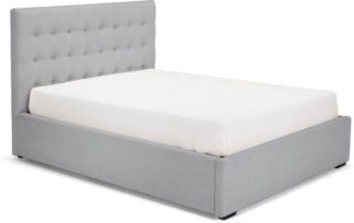 An Image of Finlay Super Kingsize Bed With Storage, Persian Grey