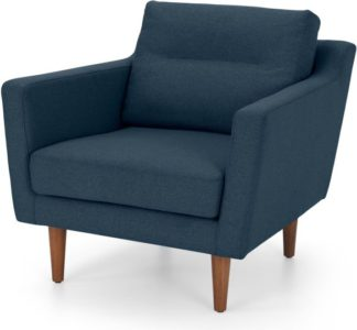 An Image of Walker Armchair, Orleans Blue