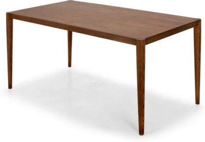 An Image of Joseph 6 Seat Dining Table, Dark Stain Ash