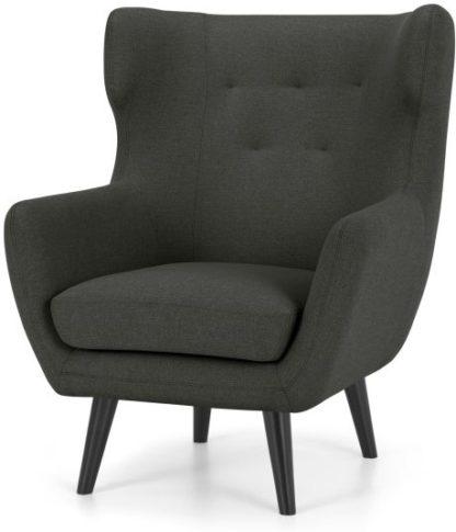 An Image of Hollis Armchair, Hudson Grey