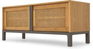 An Image of Reema Media Unit, Oak and Grey