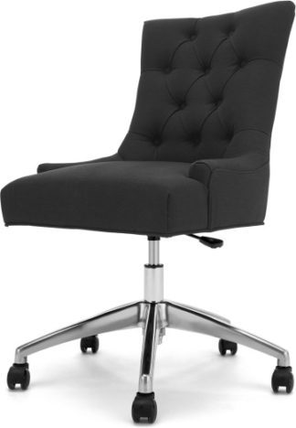 An Image of Flynn Office Chair, Midnight Black