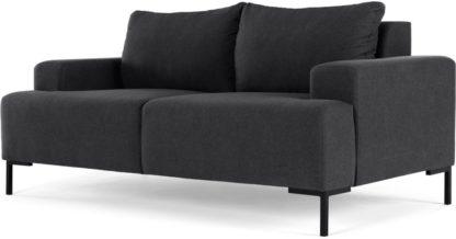 An Image of MADE Essentials Oskar 2 Seater Sofa, Sterling Grey