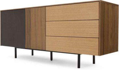 An Image of Rae Sideboard , Oak and Walnut