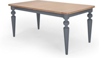 An Image of Betty Extending Dining Table, Oak and Grey