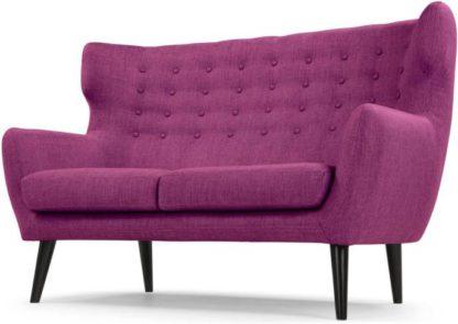 An Image of Kubrick 2 Seater Sofa, Plum Purple
