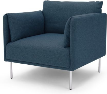 An Image of Mitski Accent Armchair, Orleans Blue