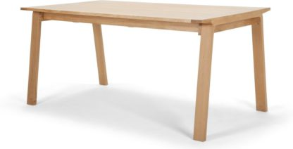 An Image of Luka 6-10 Seat Extending Dining Table, Oak