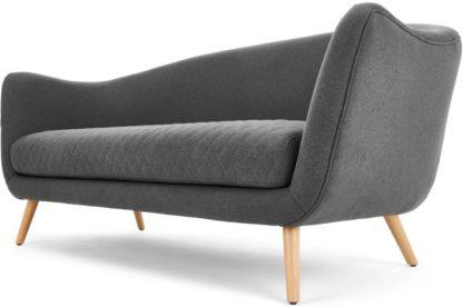 An Image of Flick 3 Seater Sofa, Marl Grey