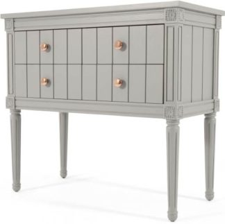 An Image of Bourbon Vintage cabinet, Grey and Copper