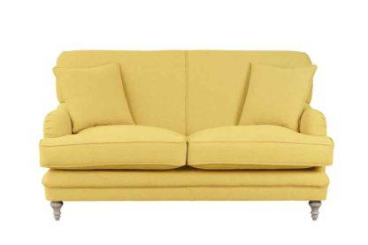 An Image of Madelein 2 seat sofa Malaga Mustard