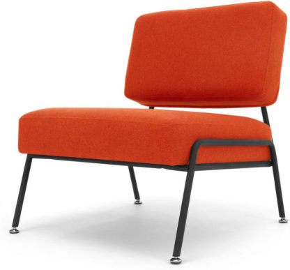 An Image of Knox Accent Chair, Retro Orange