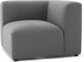 An Image of Juno Modular Corner End Seat, Marl Grey