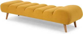An Image of Caterpillar Day Bed, Yolk Yellow