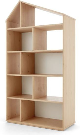 An Image of Skyline Double Shelves, Pine and White