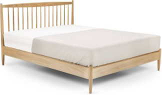 An Image of Willow Double Bed, Oak