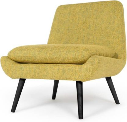 An Image of Jonny Accent Armchair, Revival Yellow