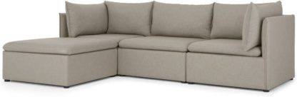 An Image of Victor 3 Seat Chaise End, Portland Grey