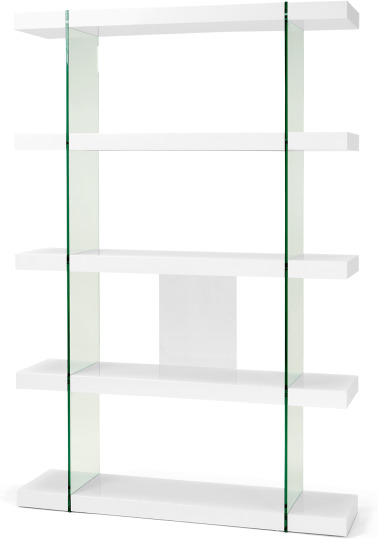 An Image of Esco Shelving Unit, White