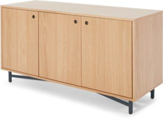An Image of MADE Essentials Benn Sideboard, Oak